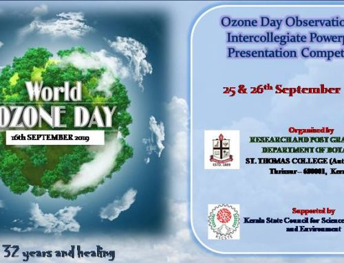 Ozone Day Observation and Intercollegiate Power Point Presentation , Dept. of Zoology
