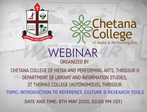 Webinar on Introduction to Reference Culture and Research Tools