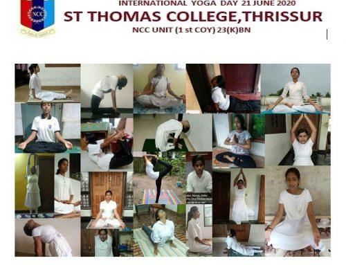 International Yoga Day Celebrations, 21 June, NSS Unit