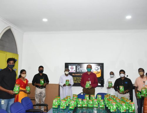 My Health Plan Campaign: Distributed Milo (400 gms) pack