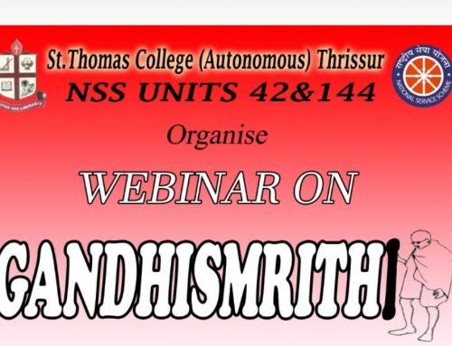 Webinar on Gandhismrithi: NSS