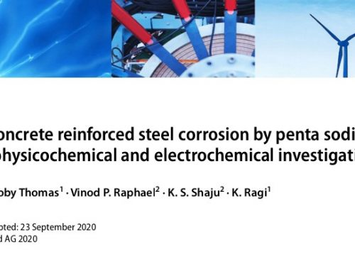 Mitigation of Concrete Reinforced Steel Corrosion by Penta Sodium Triphosphate: Physicochemical and Electrochemical Investigations.