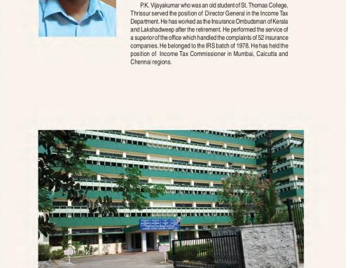 Santhome Luminaries:118 A Tribute to our Alumni