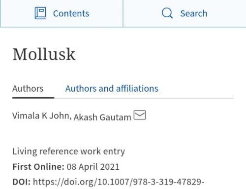 Mollusk, Encyclopedia of Animal Cognition and Behavior. Springer, Cham. https://doi.org/10.1007/978-3-319-47829-6_1203-1